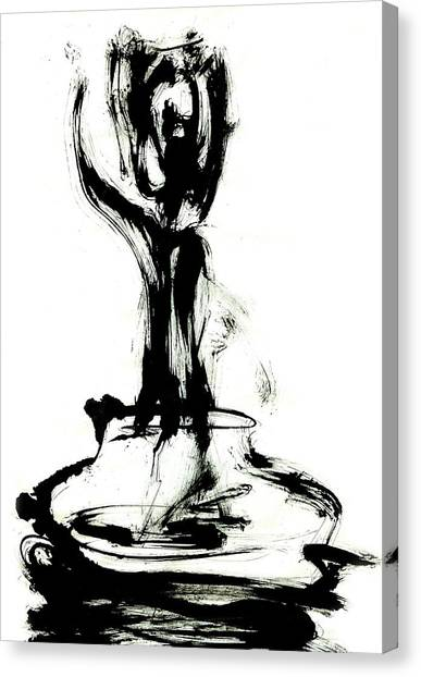 Satori Canvas Print by Yuri Lushnichenko