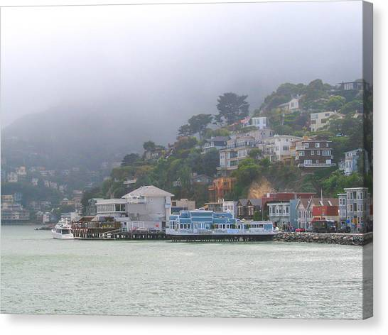 Sausalito Mists Canvas Print