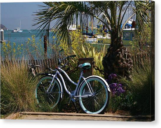 Sausalito Summer Canvas Print