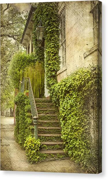 Savannah Doorway 1 Canvas Print