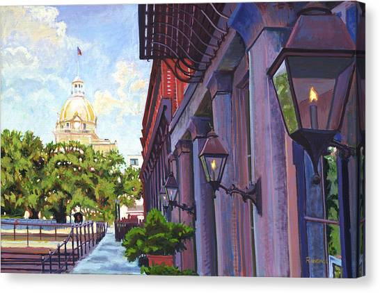 Savannah Morning Canvas Print