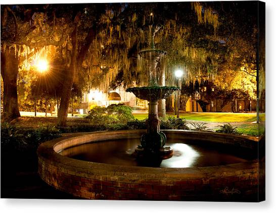 Savannah Romance Canvas Print