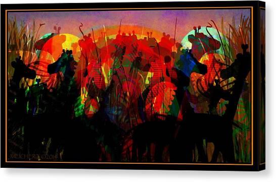 Savannah Safari Canvas Print
