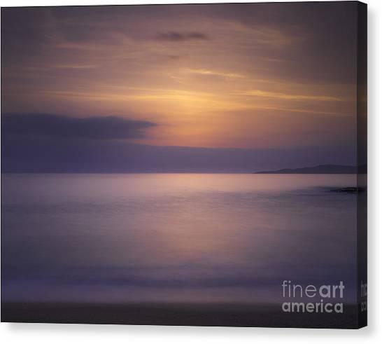Scarasta Sunset No1 Canvas Print by George Hodlin