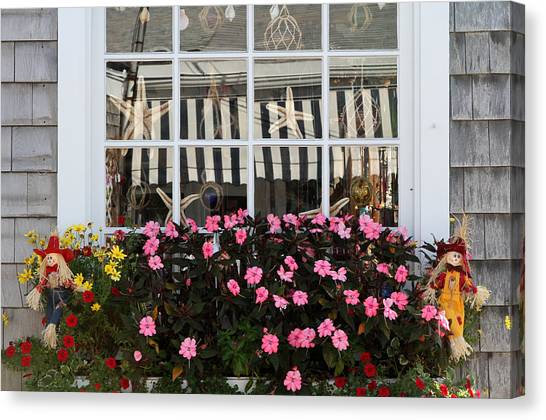 Scarecrows On Martha's Vineyard  Canvas Print by Juergen Roth