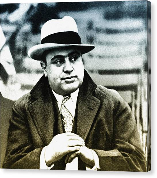 Scarface Canvas Print - Scarface - Al Capone by Bill Cannon