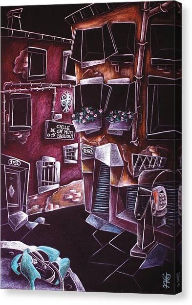 Scarpe Da Tango - Contemporary Venetian Artist - Modern Art Canvas Print by Arte Venezia