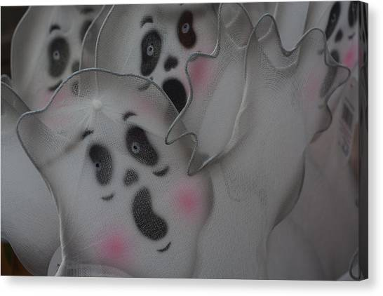 Scary Ghosts Canvas Print