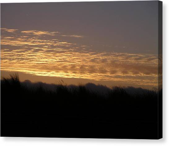 Scattered Clouds Canvas Print