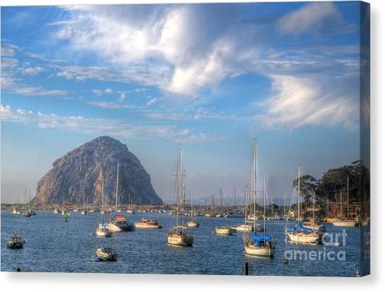 Scene On The Bay Canvas Print