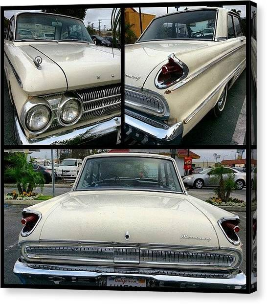 Mercury Canvas Print - Scenes From The Car Lot-- The Mercury by Kevin Previtali