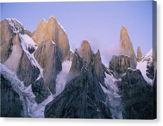 Karakoram Canvas Print - Scenic, Pakistan.  The Trango Group by Bill Hatcher