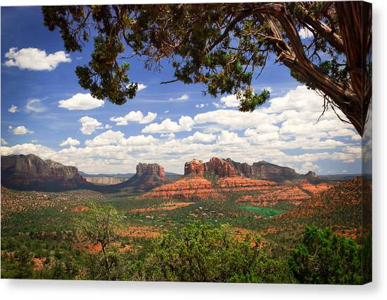 Cathedral Rock Canvas Print - Scenic Sedona by Barbara Manis