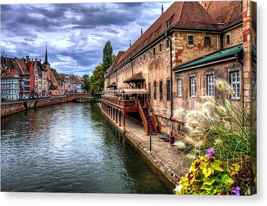 Composition Canvas Print - Scenic Strasbourg  by Carol Japp