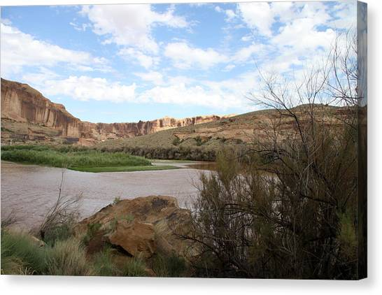 Canvas Print - Scenic Upper Colorado River by Christiane Schulze Art And Photography