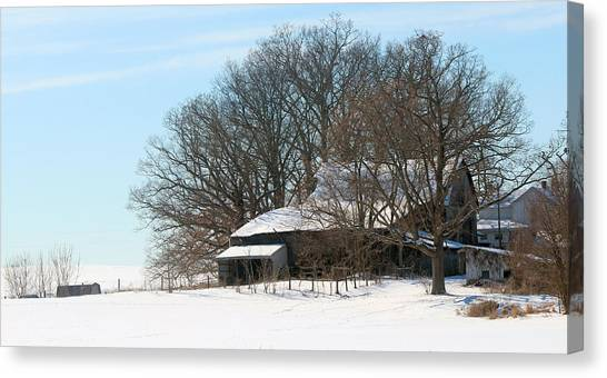 Scenic Wayne County Ohio Canvas Print