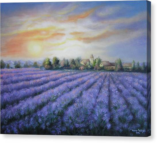Scented Field Canvas Print