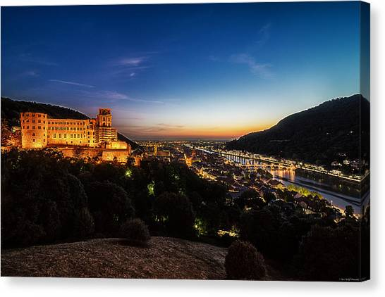Schloss Heidelberg Canvas Print