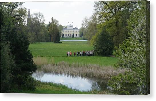 Schloss Woerlitz Canvas Print by Olaf Christian