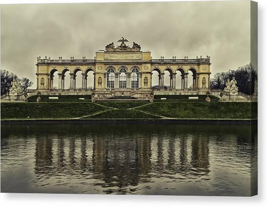 Schonbrunn Gloriette Canvas Print