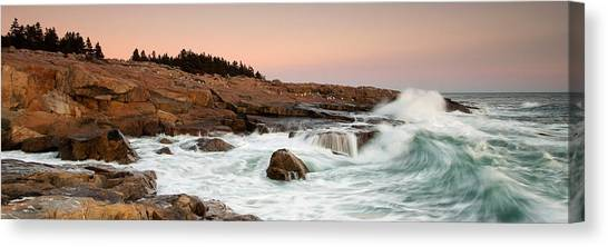 Schoodic Point - Acadia National Park Canvas Print
