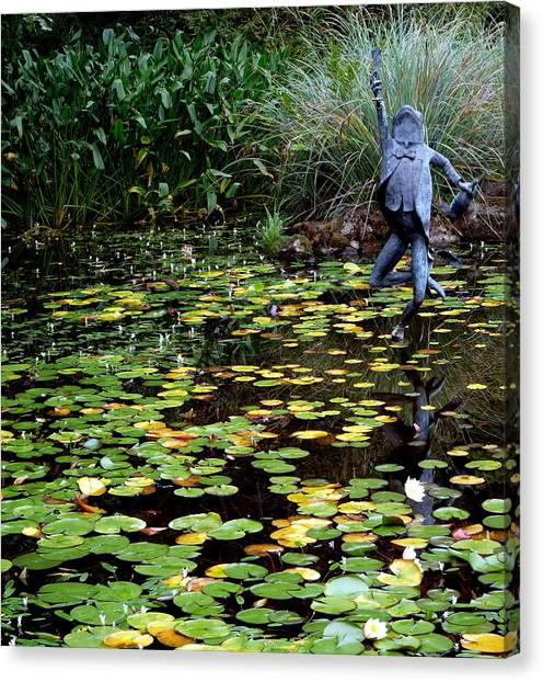 Schramsberg Winery Pond Canvas Print