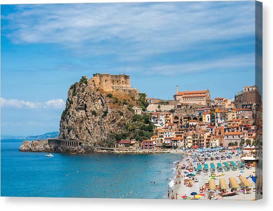 Scilla Castle Canvas Print