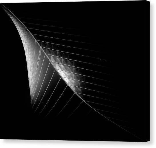 Kuwait Canvas Print - Scimitar 3 ( The Eclipse) by Ahmed Thabet