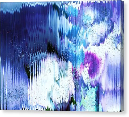 Canvas Print - Scintillating Mirage With Shining Crystals by Anne-elizabeth Whiteway
