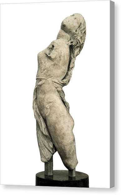 Hellenistic Art Canvas Print - Scopas 4th Century  Bc. Dancing Maenad by Everett