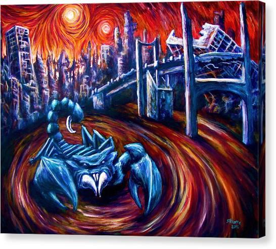 Scorpion King  Canvas Print