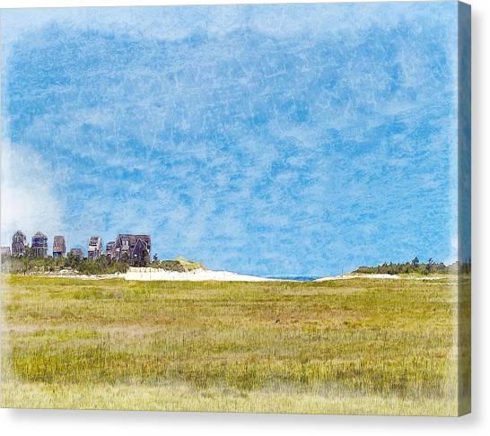 Scorton Creek Inlet Sandwich Cape Cod Canvas Print