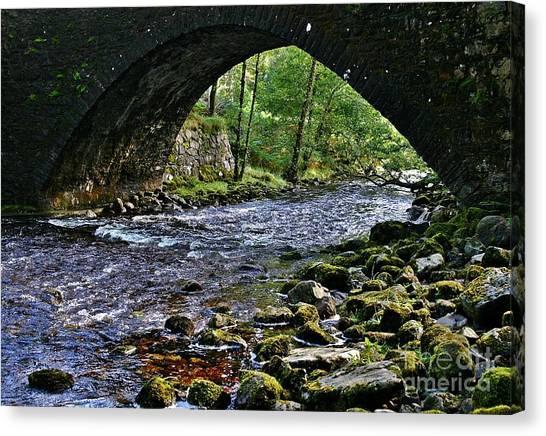 Scotland Bridge Canvas Print