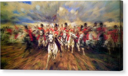 Scotland Forever During The Napoleonic Wars Canvas Print
