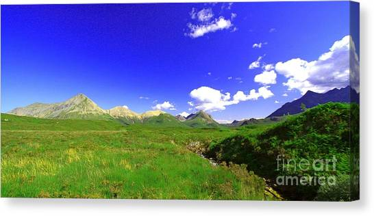 Corrichoich  Scotland Canvas Print