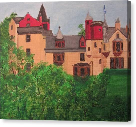 Scottish Castle Canvas Print