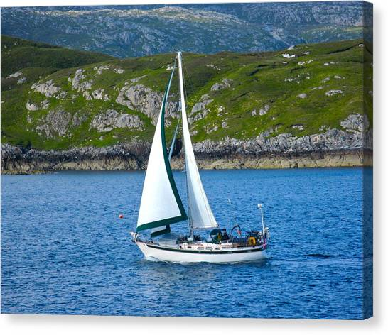 Scottish Sails Canvas Print