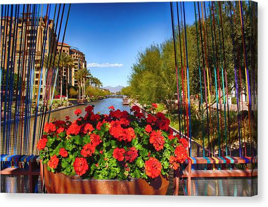 Scottsdale Waterfront Canvas Print