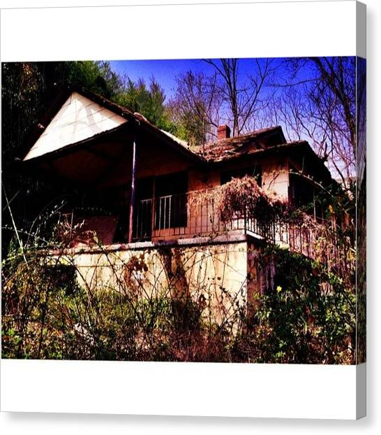 Scouting Canvas Print - Scouting Photo Locations Today by Marcus Friedhofer