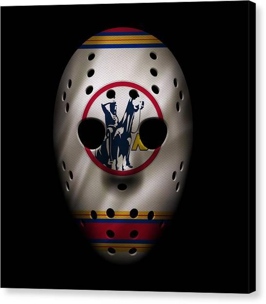 Scouting Canvas Print - Scouts Jersey Mask by Joe Hamilton