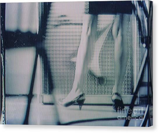 Screen #528 Canvas Print