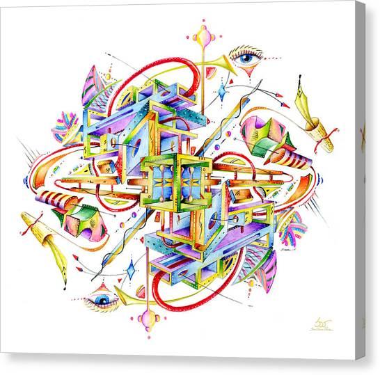Scryll Canvas Print