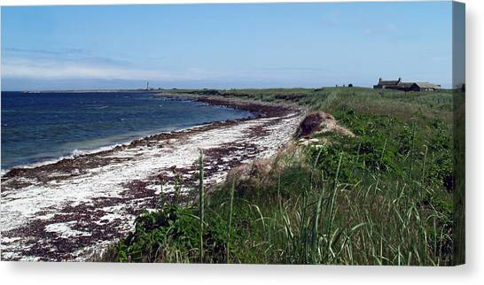 Scuthvie Bay And Start Point Canvas Print by Steve Watson