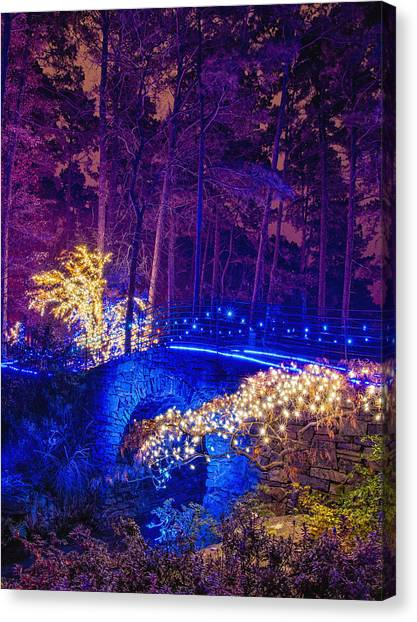 Stone Bridge - Crop Canvas Print