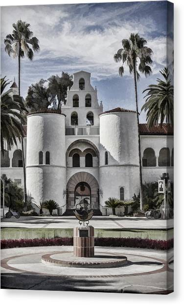Hepner Hall Canvas Print
