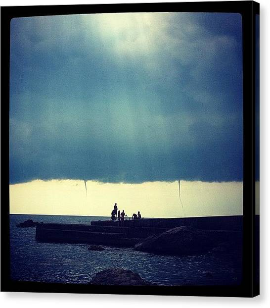 Hurricanes Canvas Print - #sea, факйе by Ira Baturevych
