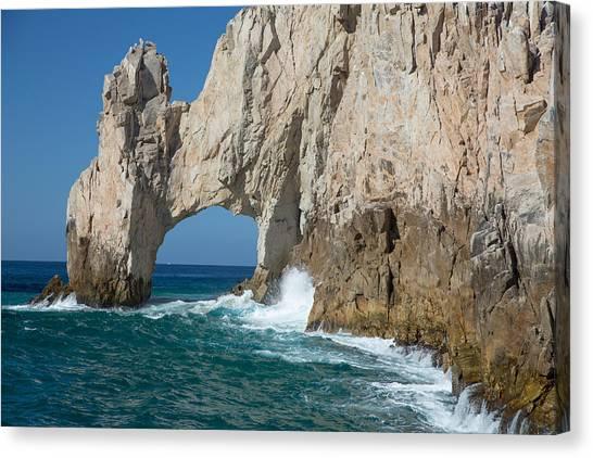 Sea Arch El Arco De Cabo San Lucas Canvas Print
