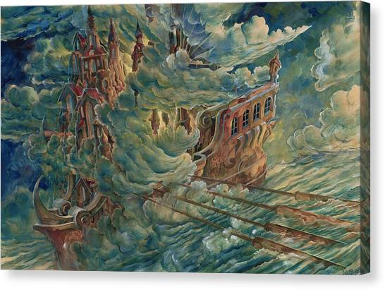Sea Engine Canvas Print