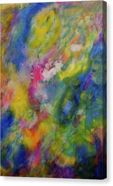 Sea Garden Canvas Print