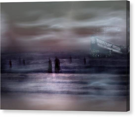 Sea Ghosts Canvas Print